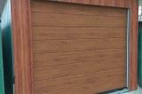 Гаражные ворота Hormann цвет золотой дуб