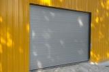 Секционные промышленные ворота RAL 9006