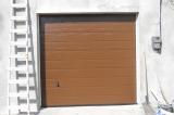 Секционные ворота Хёрманн - цвет коричневый