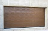 Ворота коричневые - кассета