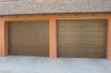 Гаражные ворота Hormann - коричневые