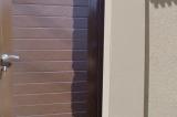 Калитка с обшивкой сендвич-панель - цвет коричневый
