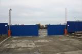 Ворота откатные промышленные.