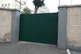 Откатные ворота обшивка профнастил высота 3 метра