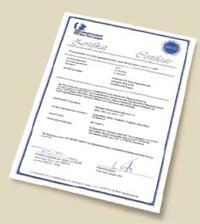 Сертификат Хорманн