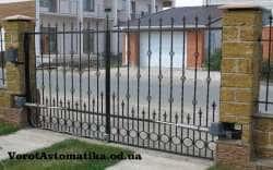 Распашные ворота - качество, проверенное временем