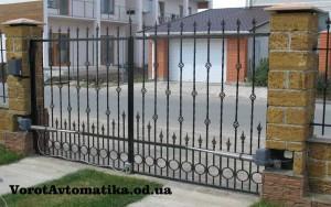 Распашные ворота Одесса