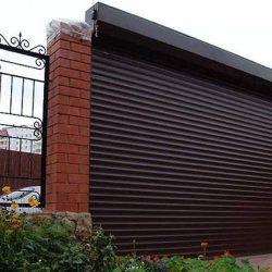 Автоматические роллетные ворота для гаража