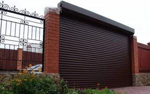 Автоматические роллетные ворота для гаража Одесса