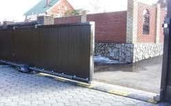 Раздвижные откатные ворота
