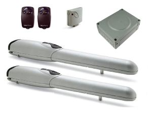 Комплект автоматики Nice Wingo 3524 KCE для распашных ворот