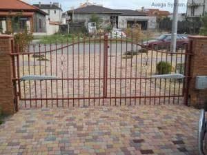 Купить кованые ворота в Одессе