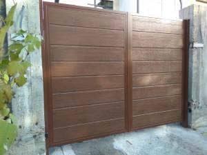 Купить распашные ворота в Одессе