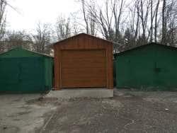 Ворота для отдельно стоящего гаража