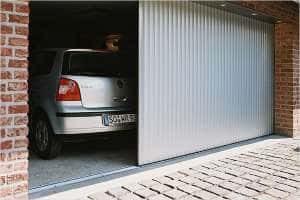 Сдвижные (откатные) гаражные ворота