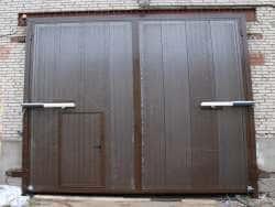 Распашные гаражные ворота Одесса