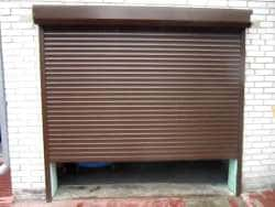 Автоматические рулонные гаражные ворота